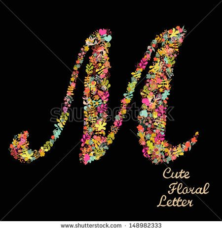 Beautiful Images Of Letter M With Flowers Picture Gallery