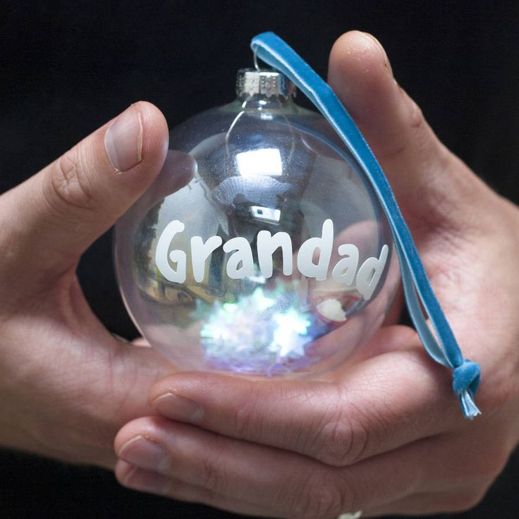 Grandparent Bauble – Little Pieces