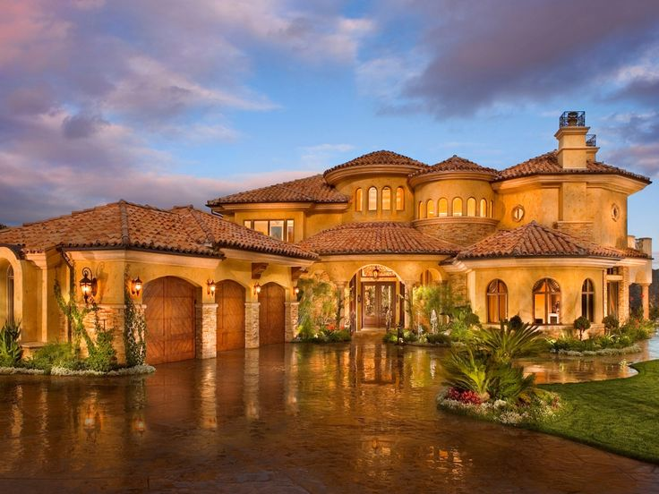 Beach Home, Dreams Home, Home Exterior, Beautiful, Pebble Beach, Dreams House, Mediterranean Home, Mansions, House Plans