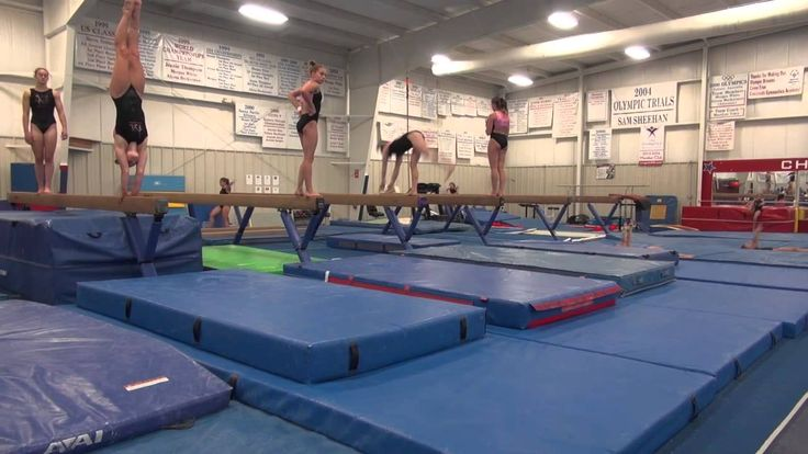 Workout All Access:  Cincinnati Gymnastics Level 10's
