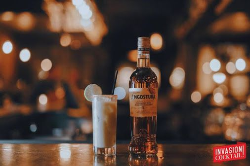 El Chicho - une de nos vedettes Invasion Cocktail : Rhum Angostura 5 ans, jus de lime, sirop simple, purée d'avocat, sambal, Chamoy, lime #LaChampagnerie #cocktail #mixologie