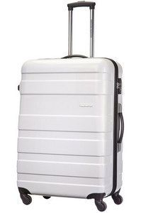 American Tourister Pasadena Spinner Large White from Luggage UK. Buy today at http://www.luggage-uk.co.uk/american-tourister-pasadena-spinner-large-white/p1235