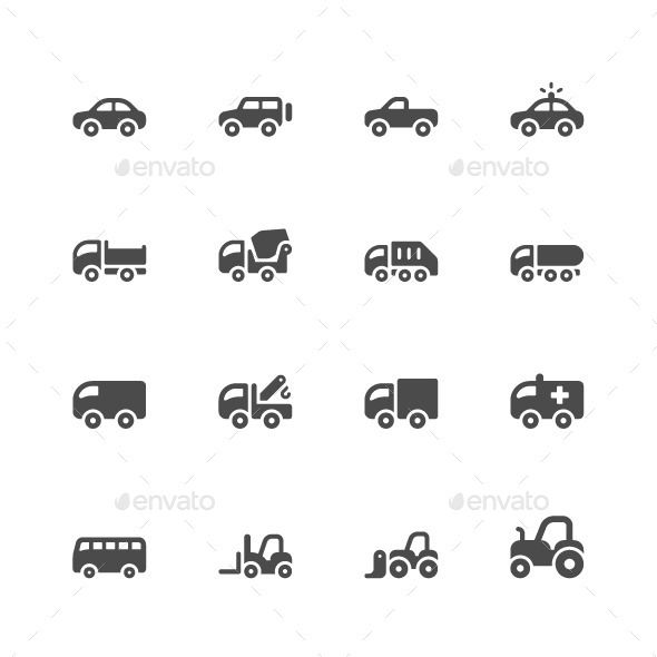 Car Icons - Icons