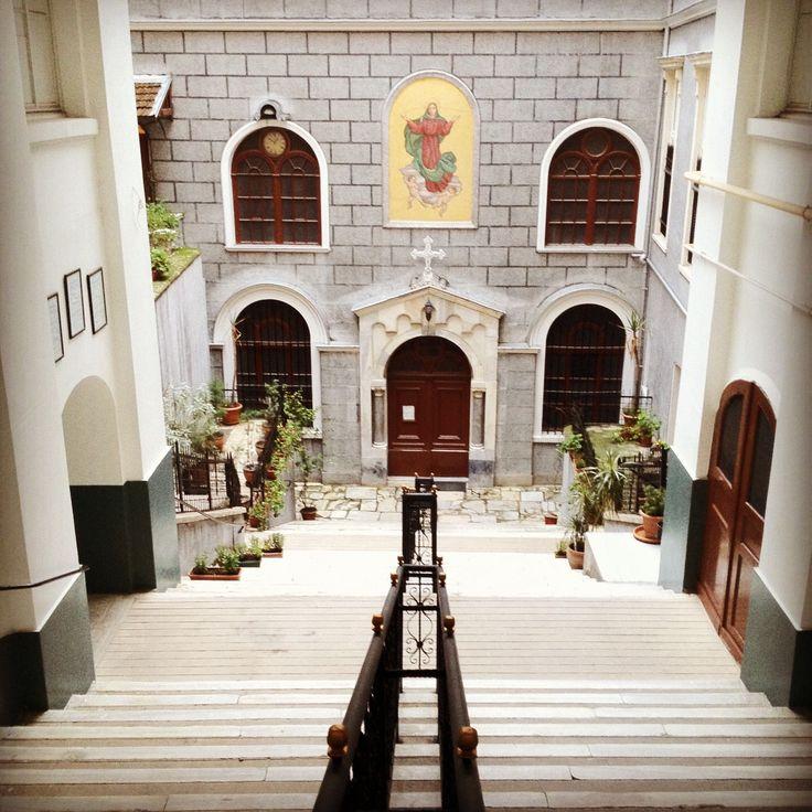 Italian church, Beyoglu, Istanbul.