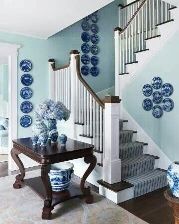 Blue decor