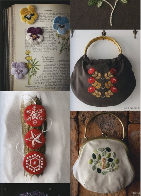 Nostalgic Embroidery Japanese Craft Book by PinkNelie on Etsy