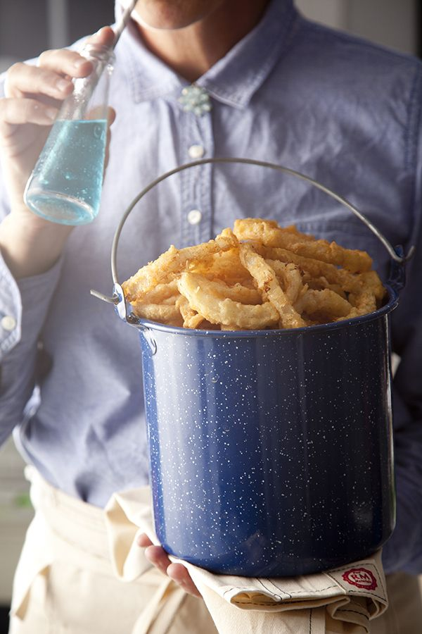 World's Best Onion Rings (Photo by Chia Chong, Styling by Libbie Summers, Recipe by Brenda Anderson)