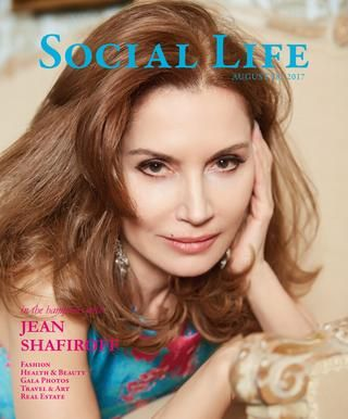 Social Life August 18, 2017 Jean Shafiroff Cover