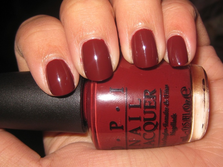 OPI - I'm Suzi and I'm A Chocoholic. Love this on my toes.