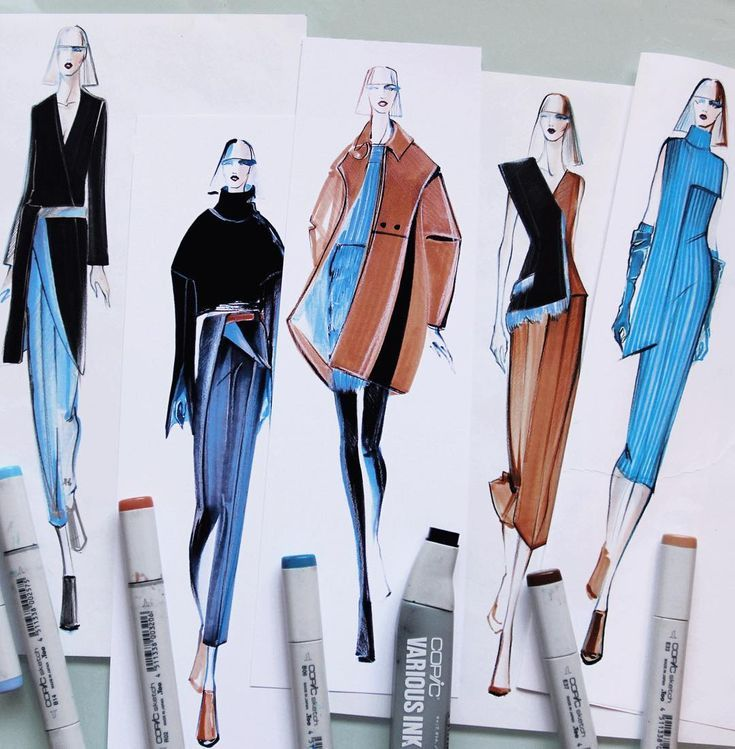 Hello My Name Is Marina Fashion Designer And Illustrator Based In Milan Italy Illustration Fashion Design Fashion Design Portfolio Fashion Design Sketches