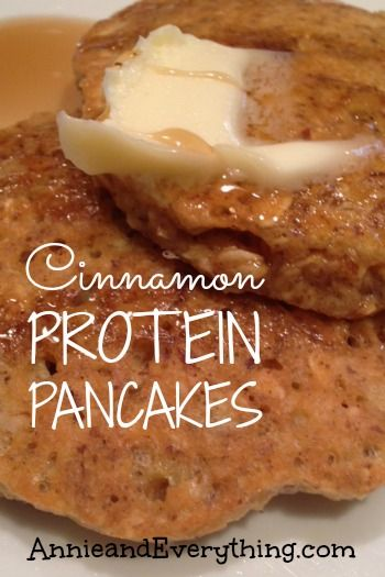 Looking for high protein breakfast ideas to serve the kids? These cinnamon protein pancakes are yummy and filling and above all -- easy!!