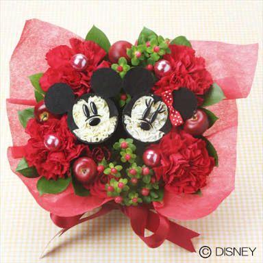 Minnie and Mickey Flower Arrangement/Arreglo de Minnie y Mickey
