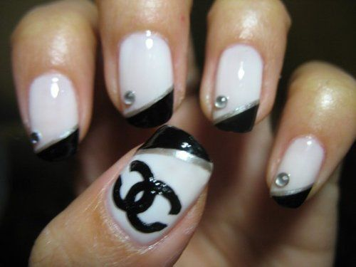 14 best chanel nails images on pinterest chanel nails design chanel nail designs google search prinsesfo Images