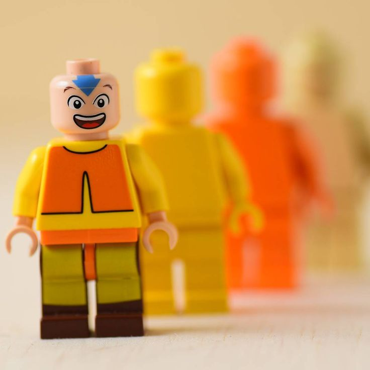 Lego Minifigures Aang Avatar
