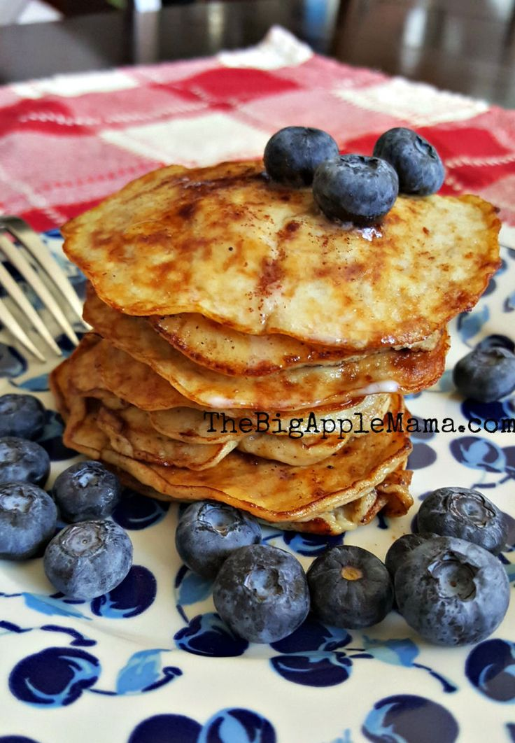 Best Low-Carb Pancake: No-Carb Pancakes with only 4 Ingredients - The Big Apple Mama