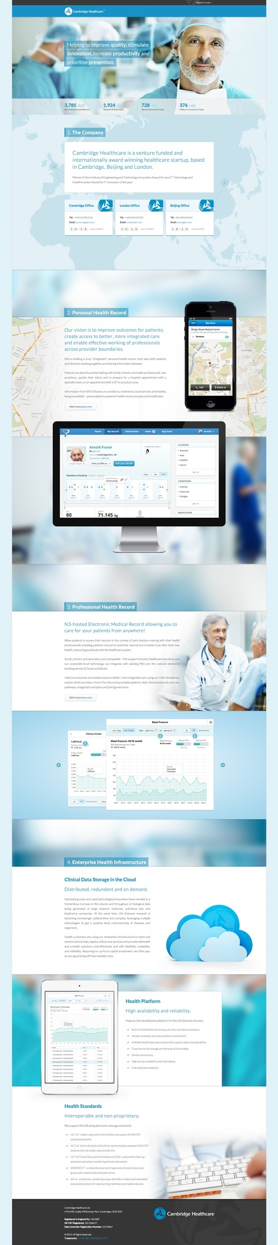 #Medical #Webdesign  83oranges.com