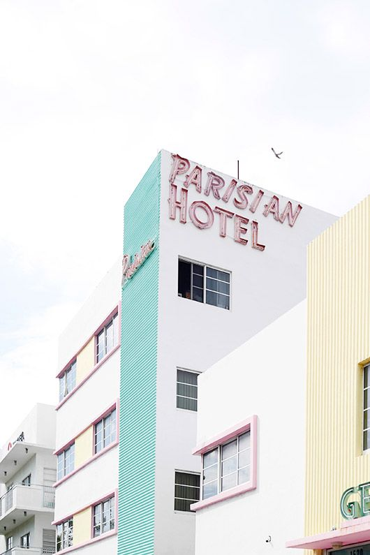 welcome to miami: art deco district tour / sfgirlbybay