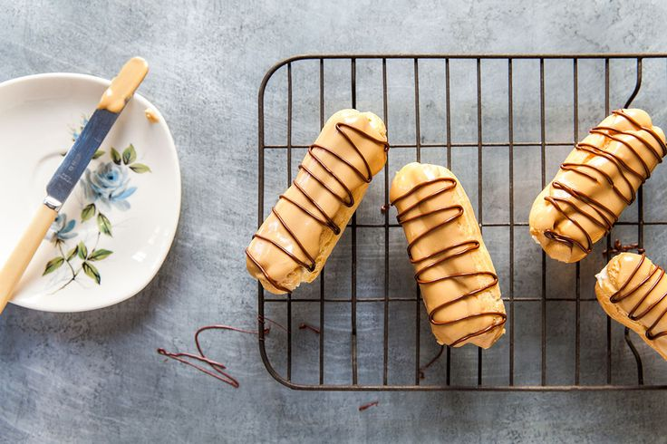 """For years I've avoided making choux pastry for no good reason. It is, in fact, very easy and versatile. You can fill it with a sweet or savoury custard – in this case, I've used cream."" Poh Ling Yeow, Poh & Co. 2"