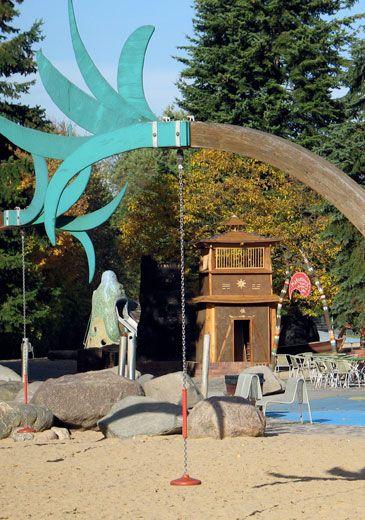 Britzer Garten mit Spiellandschaft (Wasser!)