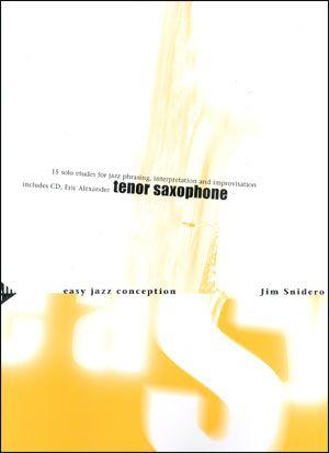 Jamey Aebersold Jazz: Easy Jazz Conception for Tenor Sax