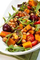 Chickpea and Pumpkin Salad Recipe - weightloss.com.au