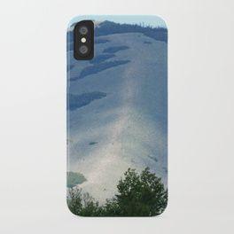 Hog's Back Mountain iPhone Case