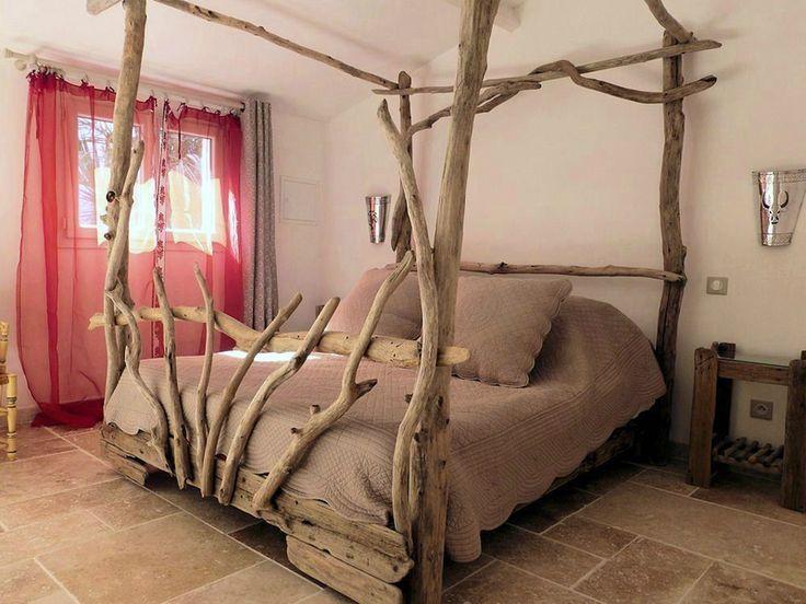 Têtes de lit en bois flotté - Entre Mer et Marais ~ Créations en ...