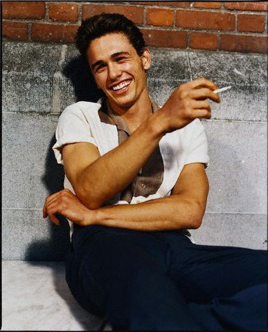 James Franco, cigarettes make any picture look cool :)