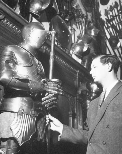 King Michael of Romania standing in the armor room of his palace. - See more at: http://only-romania.com/2012/05/king-michael-of-romania-in-april-1946/#sthash.Kx2bsiow.dpuf