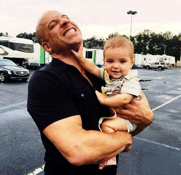 Vin Diesel and James Ayoub, F8