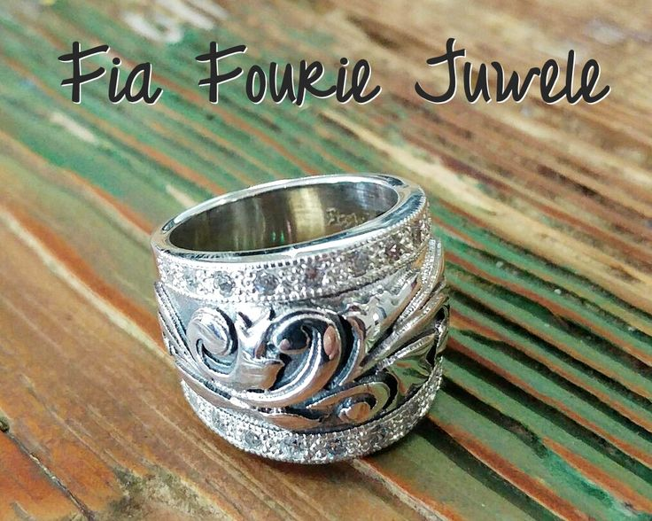 Fancy something new? Sterling silver with any colour stones you desire! Fia Fourie Juwele