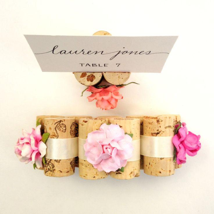 Succulent Bloom Place Card Holder  ~  we ❤ this! moncheribridals.com #weddingescortcardholder