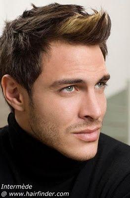 10 best images about la cara del hombre on pinterest - Peinados modernos de hombres ...