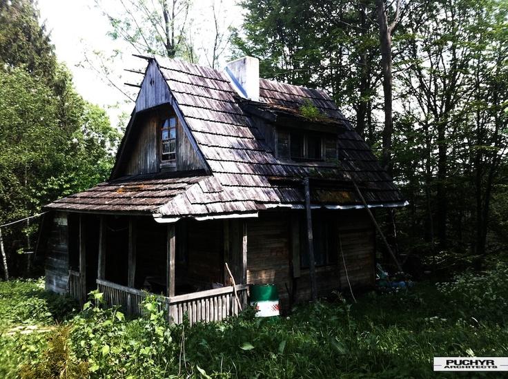 Old Summer Cottage, Bieszczady, Poland