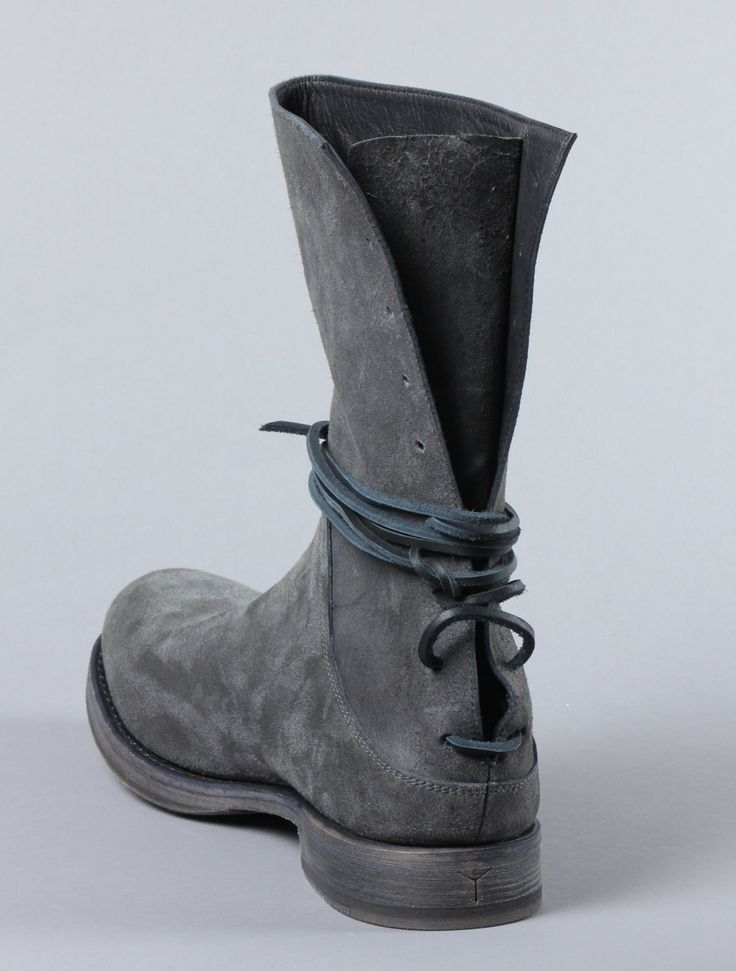 Mens  back lace up rugged boots