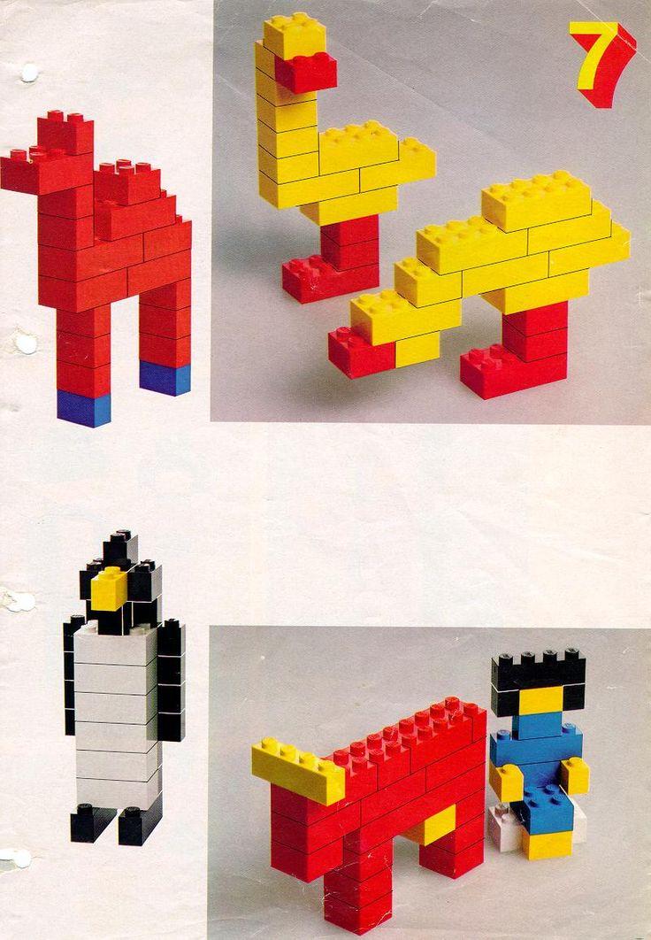 Creabea met blokken #lego #dieren #creative