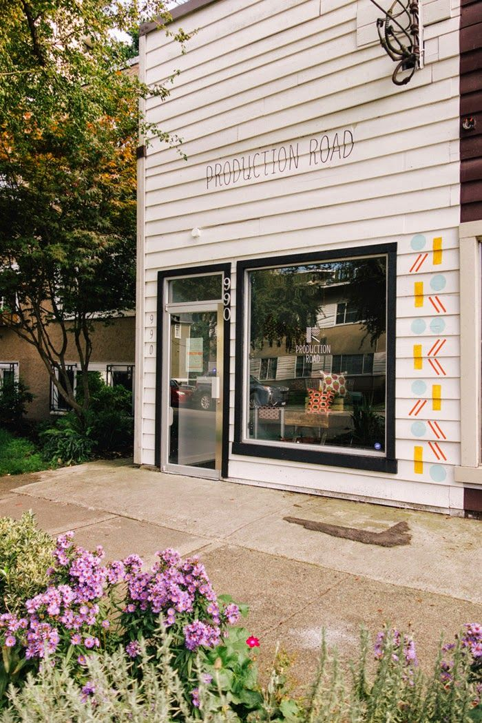 Poppytalk: Dispatch from Vancouver | Shop Tour - Production Road