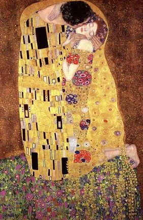 Gustav Klimt : the kiss