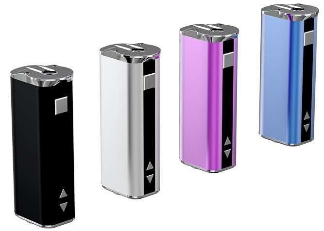 The iSmoka Eleaf iStick 30W is capable of a maximum 30W Output, with a voltage range of 2-8V. It is capable of firing down to 0.4 Ohms, making it handy for the new breed of Sub Ohm Clearomizers like the Aspire Atlantis and Kanger Subtank Mini.