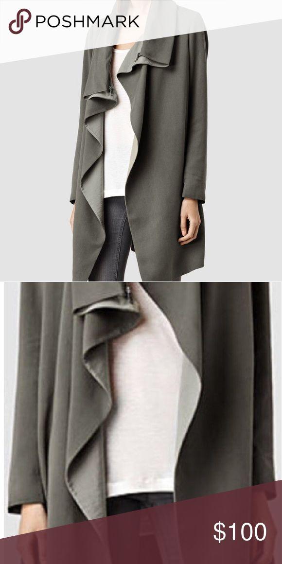 Allsaints jacket grey worn once. Allsaints brand new jacket worn once. All Saints Jackets & Coats