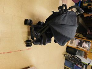 Brand new GB stroller for sale GB stroller with sunshade This item is brand new, unused, and was only taken out of the package for assembly Model Qbit LTE with cup holder, locking front and rear wheels