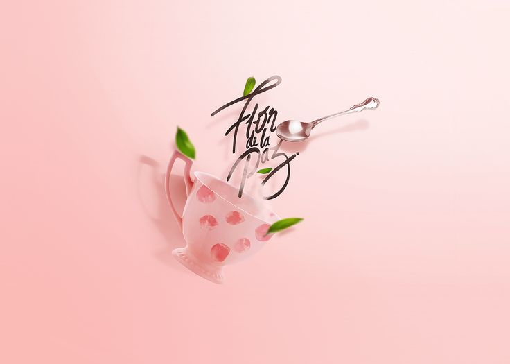 """Check out this @Behance project: """"Flor de la paz - organic tea"""" https://www.behance.net/gallery/48619553/Flor-de-la-paz-organic-tea"""