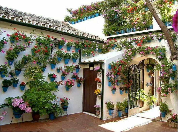 Patio andaluz patios de andalusia pinterest patios - Fotos patio andaluz ...