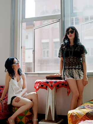 The Veronicas #StyleKeeper #Glassons #SoundsofSummer Photographed by Clement Pascal