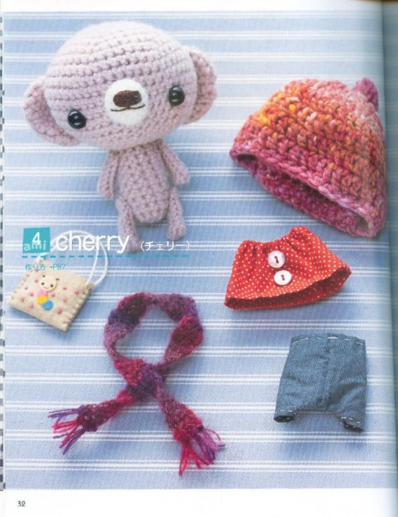 247 best images about Amigurumi teddy/bear on Pinterest