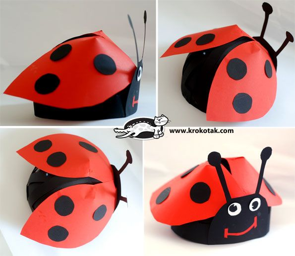 Mask ladybird for kids