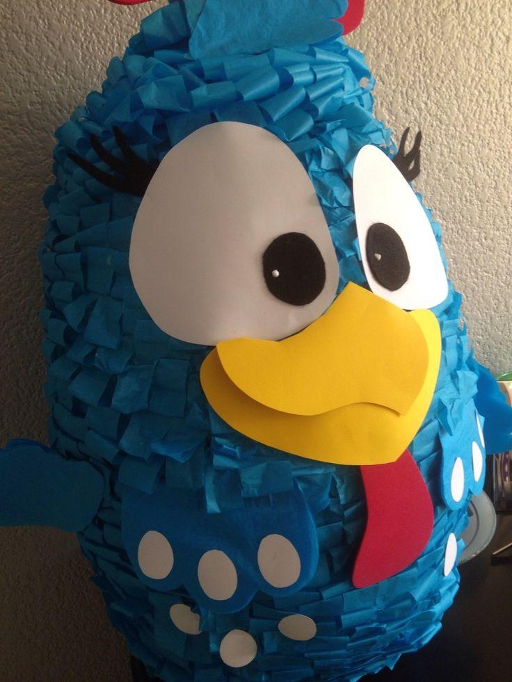 Piñatas Gallina Pintadita Y Amigos - $ 400.00 en MercadoLibre