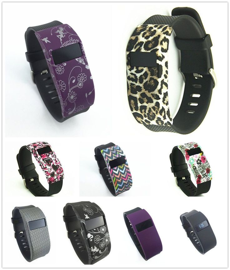 Slim Designer Sleeve Band Cover Cases For Fitbit Charge/Fitbit Charge Hr