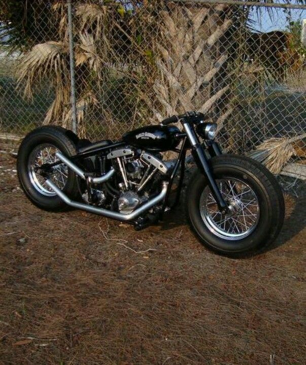 Bobber - like the wheel/tire setup on this.