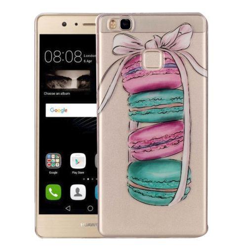 [$0.95] Huawei P9 Lite Macarons Pattern IMD Workmanship Soft TPU Protective Case
